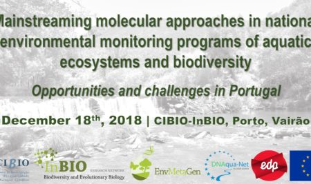 WORKSHOP ON MOLECULAR APPROACHES FOR MONITORING OF AQUATIC ECOSYSTEMS AND BIODIVERSITY